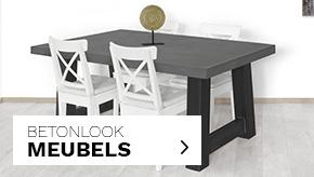 Industriële Betonlook meubels