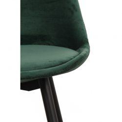 Leaf barkruk velvet - emerald groen