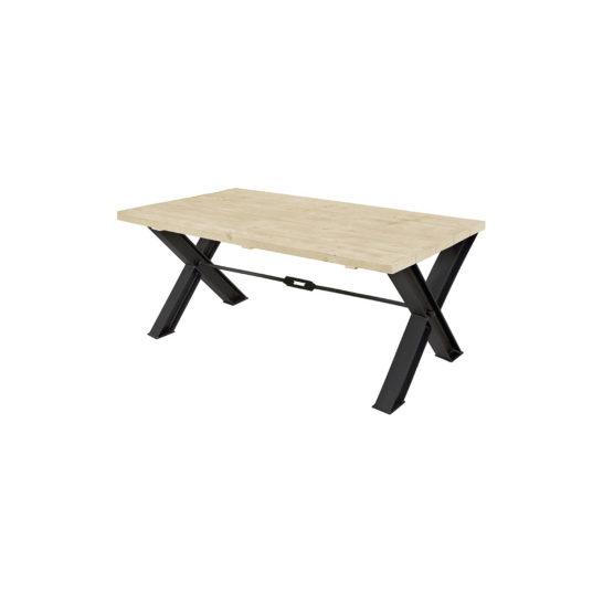 Steigerhouten tafel Hima