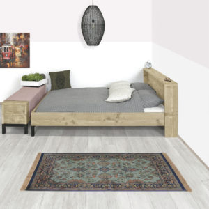 Steigerhouten bed Sligo