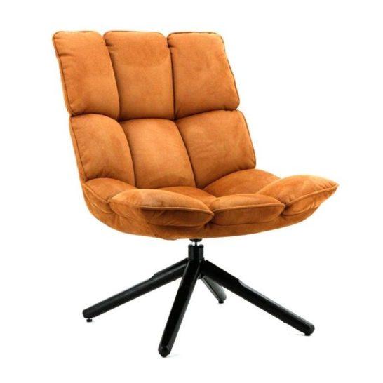 Eleonora fauteuil Daan - cognac