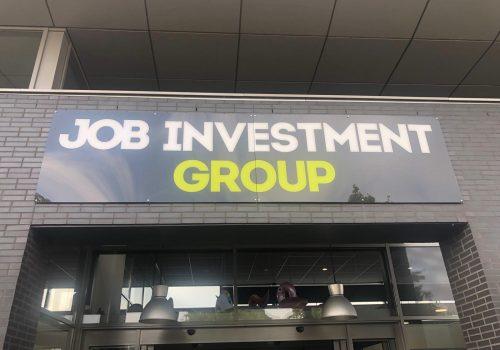 Inrichting kantoor Job Investment Group