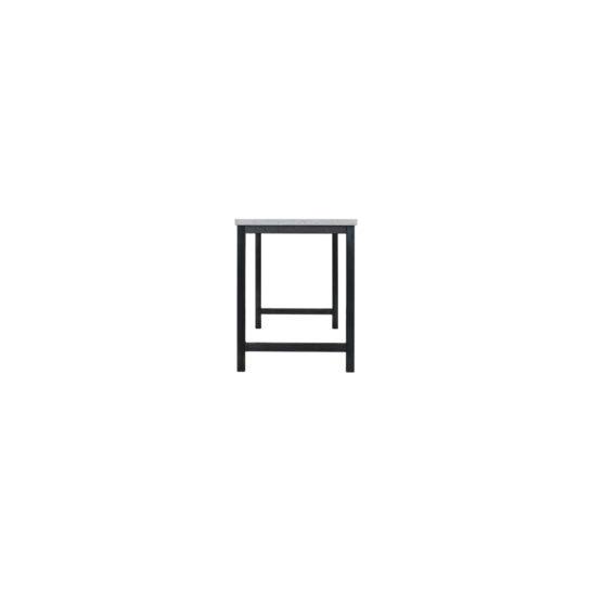 Betonlook bureau Bax met industrieel frame