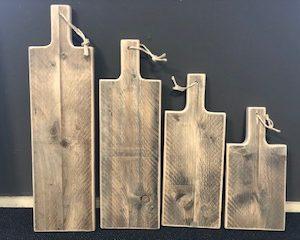 Borrelplank / tapasplank van steigerhout