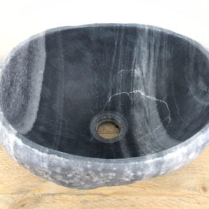 Natuurstenen waskom | W008 | 32 x 26 x 15,5 cm