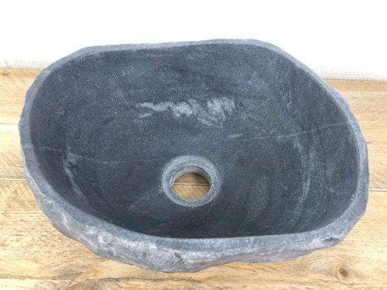 Rivierstenen waskom | W001 | 30 x 24 x 14 cm