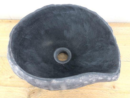 Rivierstenen waskom | W014 | 30 x 25 x 15 cm