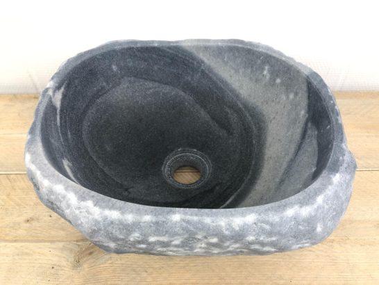 Natuurstenen waskom | W020 | 37 x 32 x 15,5 cm