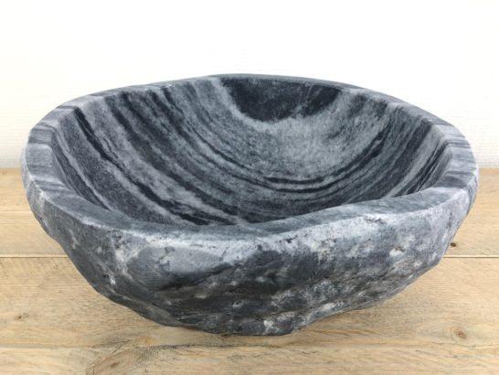 Rivierstenen waskom | W021 | 35,5 x 31,5 x 15 cm