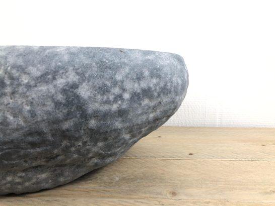 Natuurstenen waskom | W023 | 36 x 31 x 16 cm