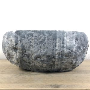 Rivierstenen waskom | W027 | 36,5 x 31 x 15,5 cm