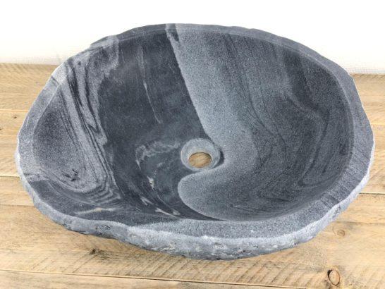 Natuurstenen waskom | W031 | 47 x 42 x 15,5 cm