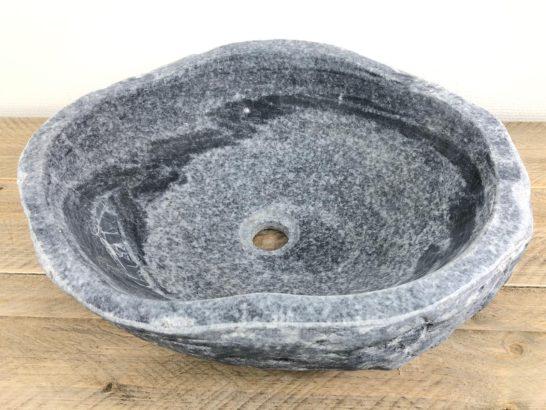 Natuurstenen waskom | W033 | 45,5 x 38,5 x 14 cm