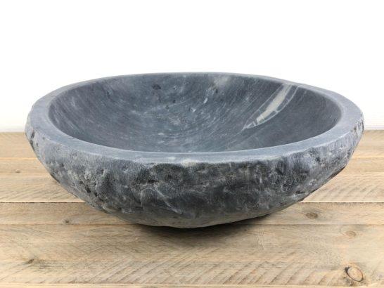 Natuurstenen waskom | W036 | 43 x 41 x 13,5 cm