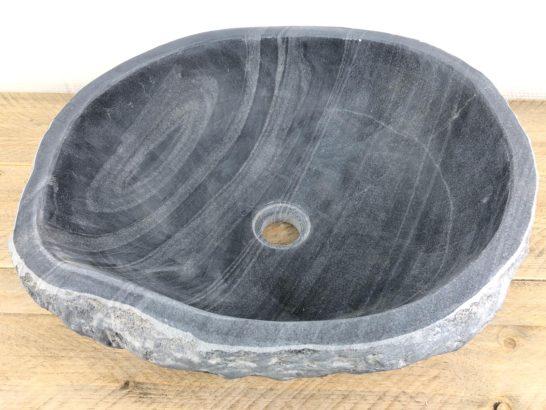 Natuurstenen waskom | W038 | 45 x 40 x 15,5 cm