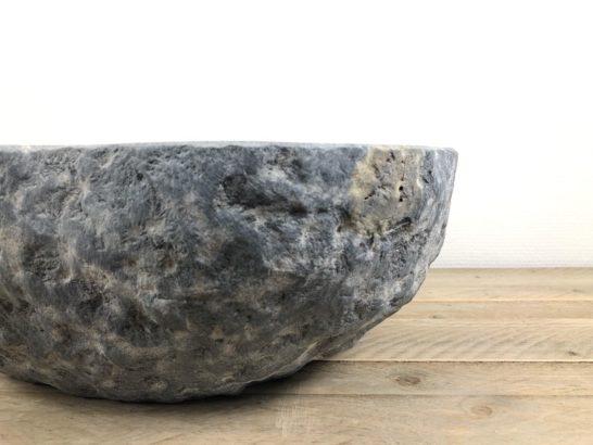 Natuurstenen waskom | W039 | 44 x 40 x 15 cm