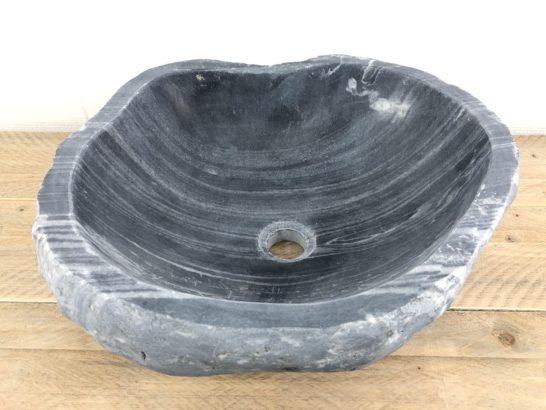 Rivierstenen waskom | W040 | 45 x 41 x 16,5 cm