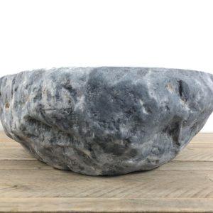 Rivierstenen waskom | W051 | 40 x 35,5 x 13 cm