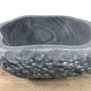 Riviersteen waskom | W055 | 40 x 35 x 15,5 cm