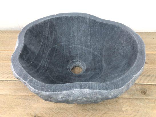 Natuursteen waskom   W058   39 x 35 x 14,5 cm