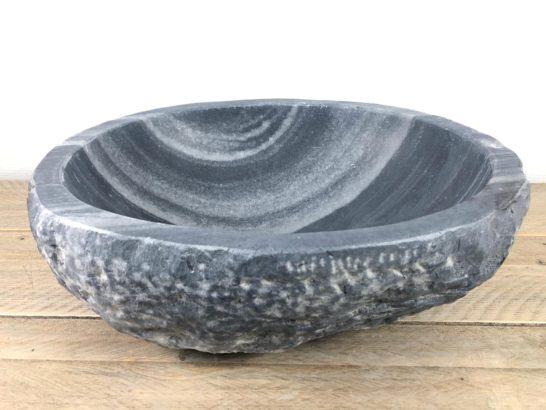 Natuursteen waskom   W065   42 x 35 x 16 cm