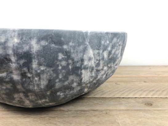 Riviersteen waskom | W066 | 41 x 33,5 x 16 cm