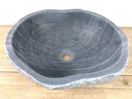 Natuurstenen waskom | W071 | 40 x 35,5 x 15 cm