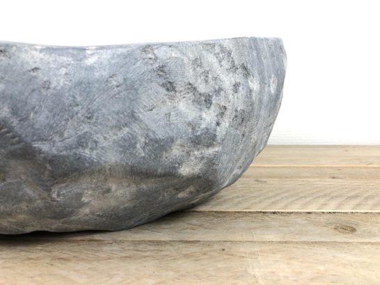 Riviersteen waskom   W072   41 x 34,5 x 15 cm