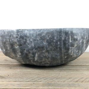 Riviersteen waskom | W076 | 39,5 x 33,5 x 14 cm