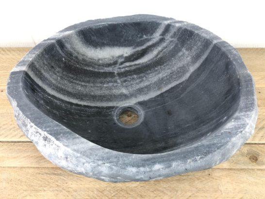 Riviersteen waskom | W077 | 42 x 36,5 x 15 cm
