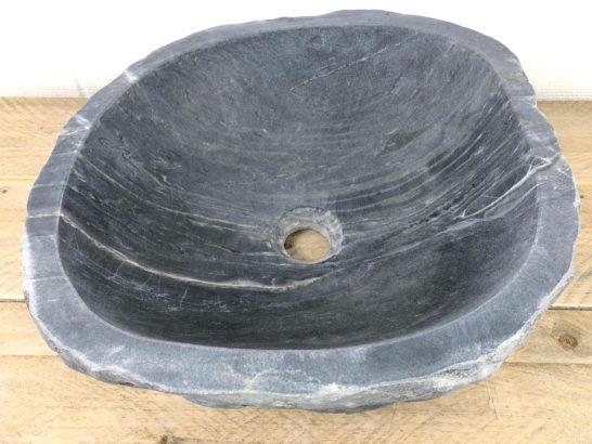 Natuursteen waskom | W081 | 45 x 40,5 x 13 cm