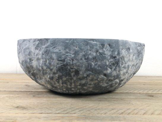 Natuursteen waskom   W085   40,5 x 36 x 15 cm