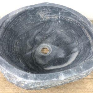 Natuurstenen waskom | W093 | 41,5 x 38 x 14,5 cm