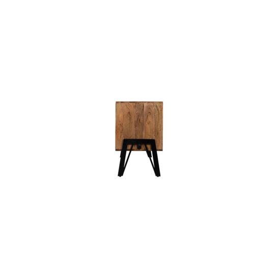 Acaciahout TV meubel Altona met industrieel onderstel