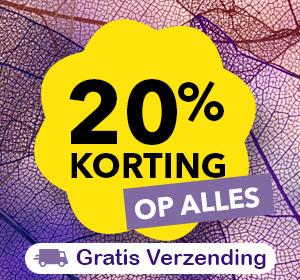 20% Herfstkorting