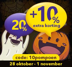 30% Halloween Korting