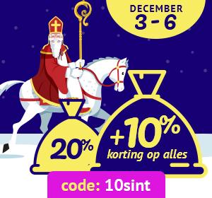 Sinterklaas Korting