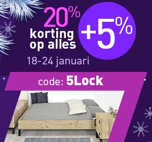 25% Lockdown Korting