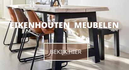 industriele eikenkenhouten meubelen