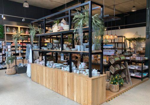 ndustriele display kasten van steigerhout