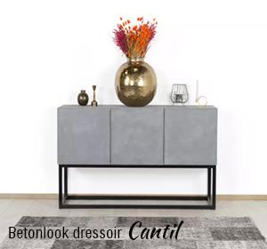 Betonlook dressoir Cantil
