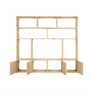 Eikenhouten TV meubel/kast Corfu