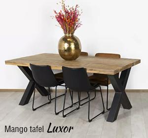 Mango tafel Luxor