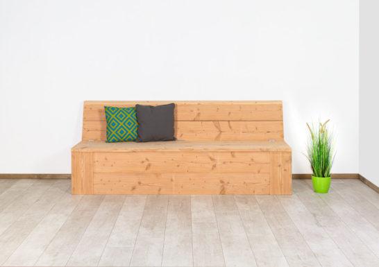 Douglashout tuinbank Somis met opbergruimte